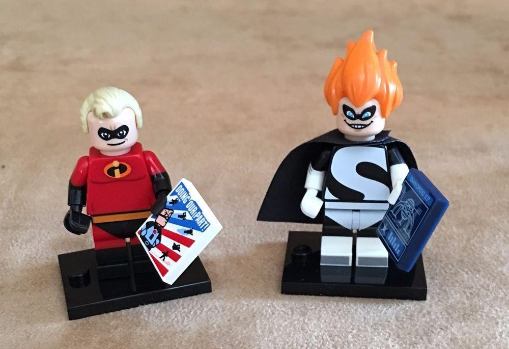 LEGO Disney Minifigure FREE UK POSTAGE Incredible Incredibles Mr