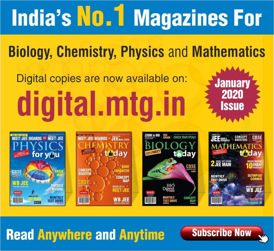 All Neet Jee And Other Competitive Exam Aspirants The January Issues Of Your Favourite Mtg Magazines Of In 2020 Physics And Mathematics Mathematics Today Mathematics
