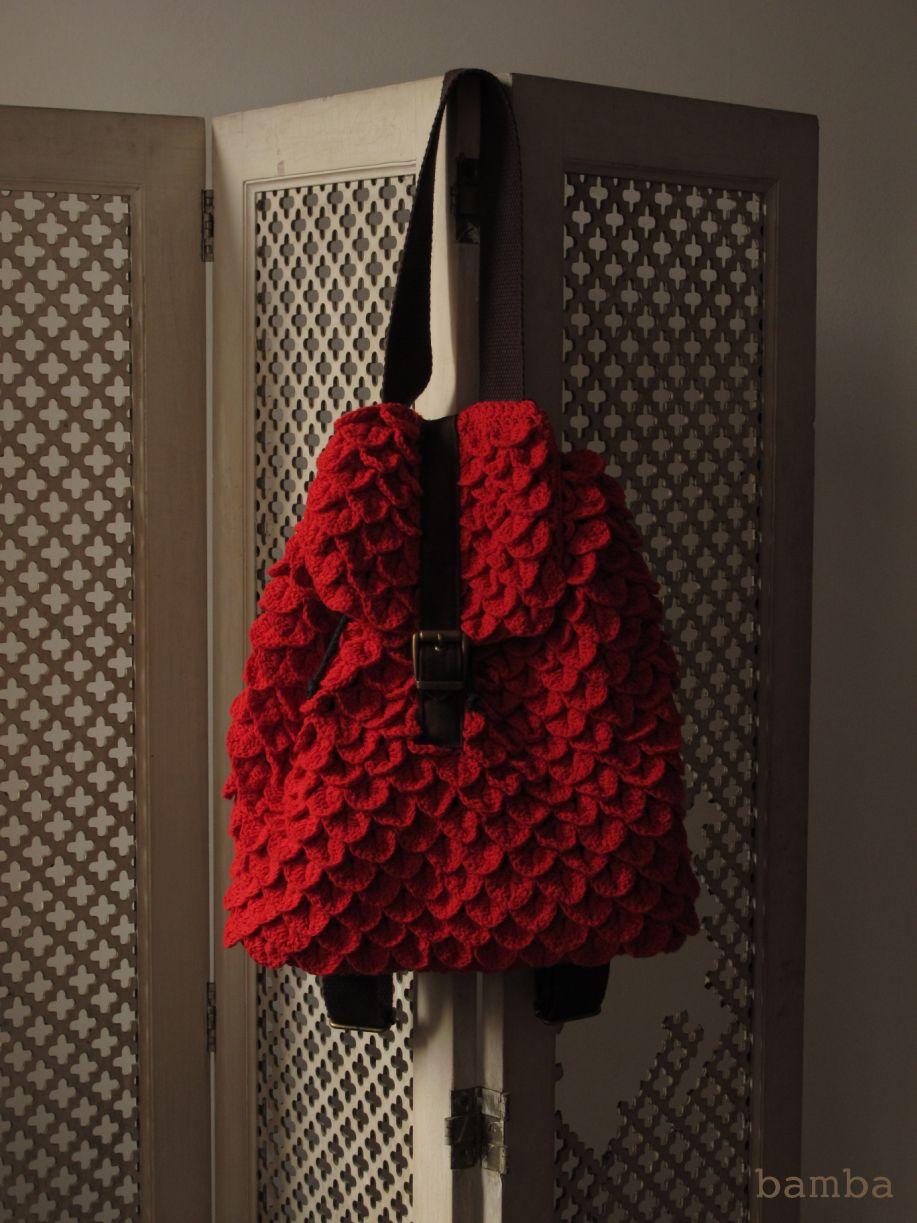 Crocodile Stitch Backpack