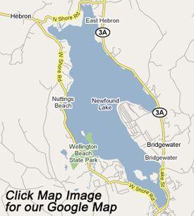 newfound lake nh map Newfound Lake Bristol Bridgewater Hebron Alexandria Groton newfound lake nh map