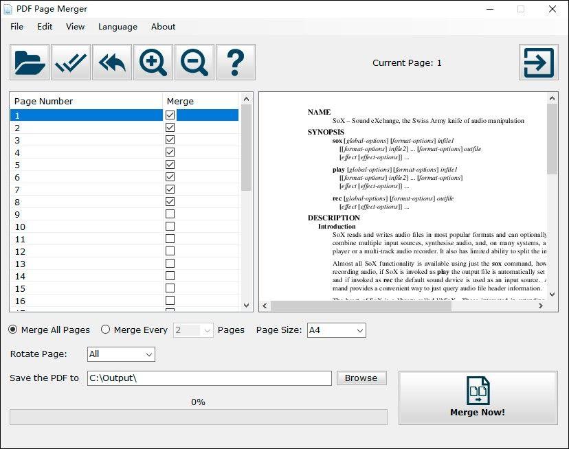 Photoshop save multiple page pdf