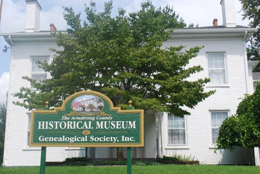 Armstrong county historical museum and genealogical