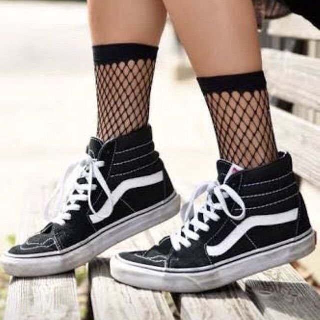 Vans (With images) | Cute shoes, Girls shoes, Sock shoes