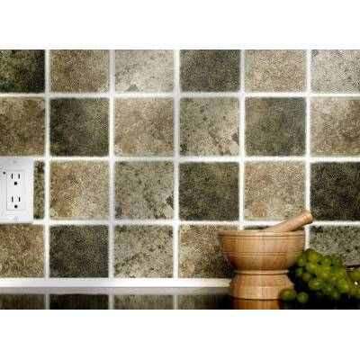Our Rustic Mix Tiles Solid And Powerful Adhesive Wall Tiles. Apply Over Any  Size Of Tile Or Onto The Wall. No Cementing Or Grouting, Steam And Water ...
