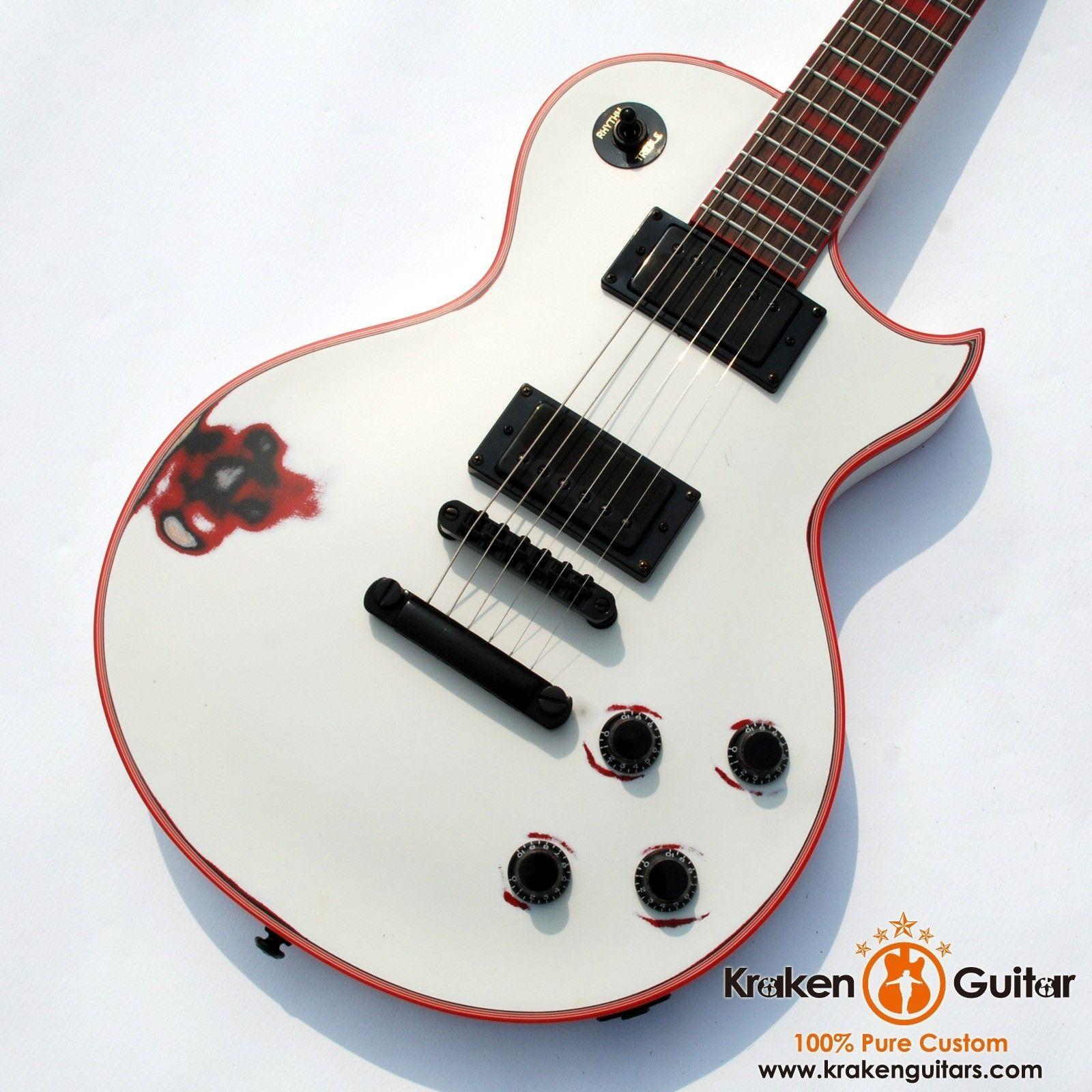 Kraken Legion 4 Fire Storm WH relic Promotion Auction electric guitar