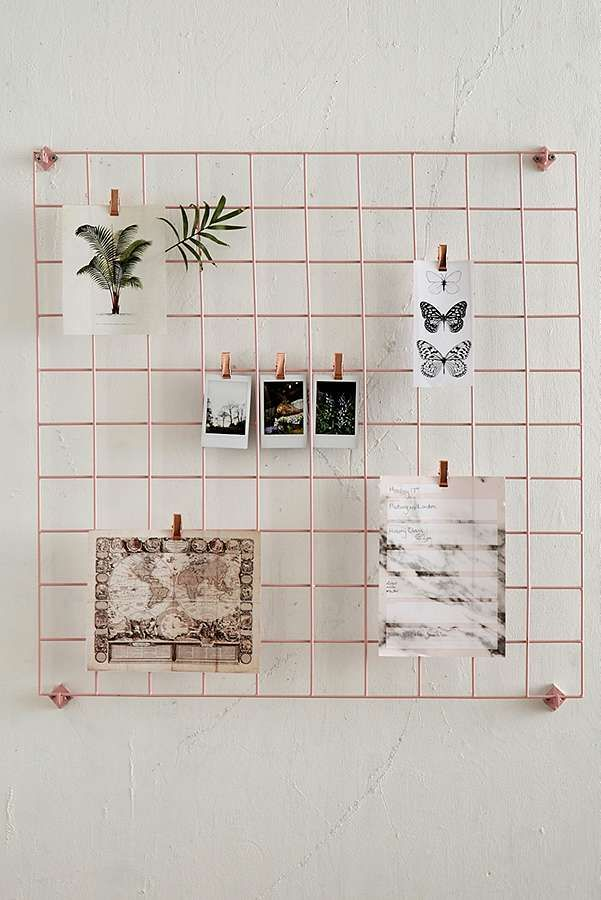 Wire Wall Grid Urban Outfitters Room Decor Home
