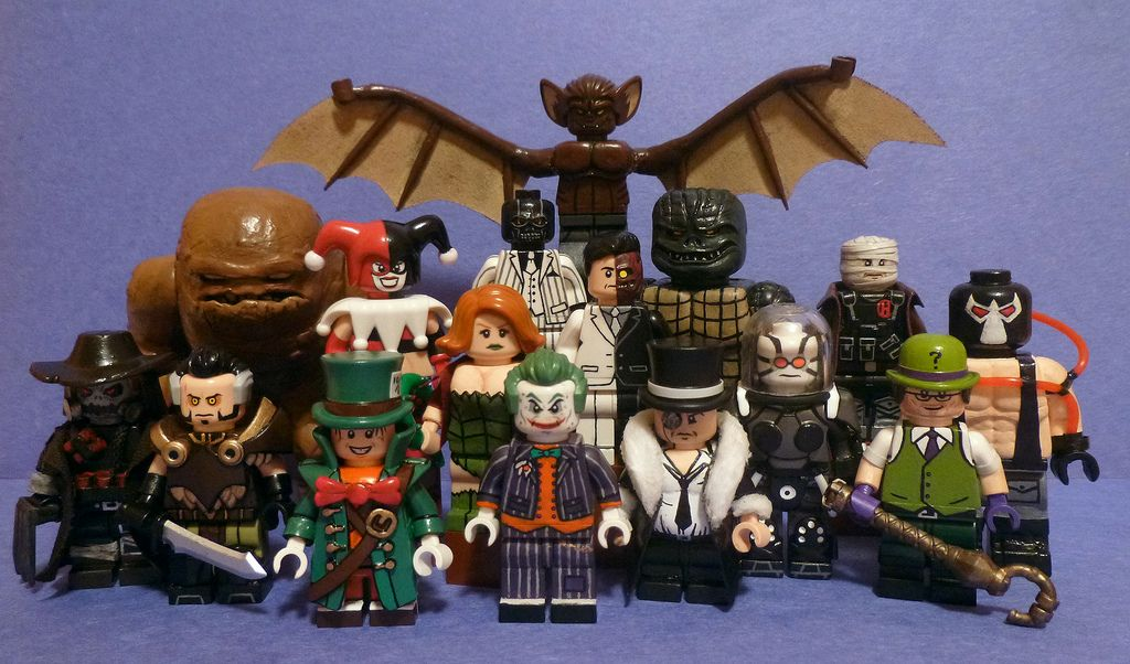 custom lego batman villains final groupshot custom