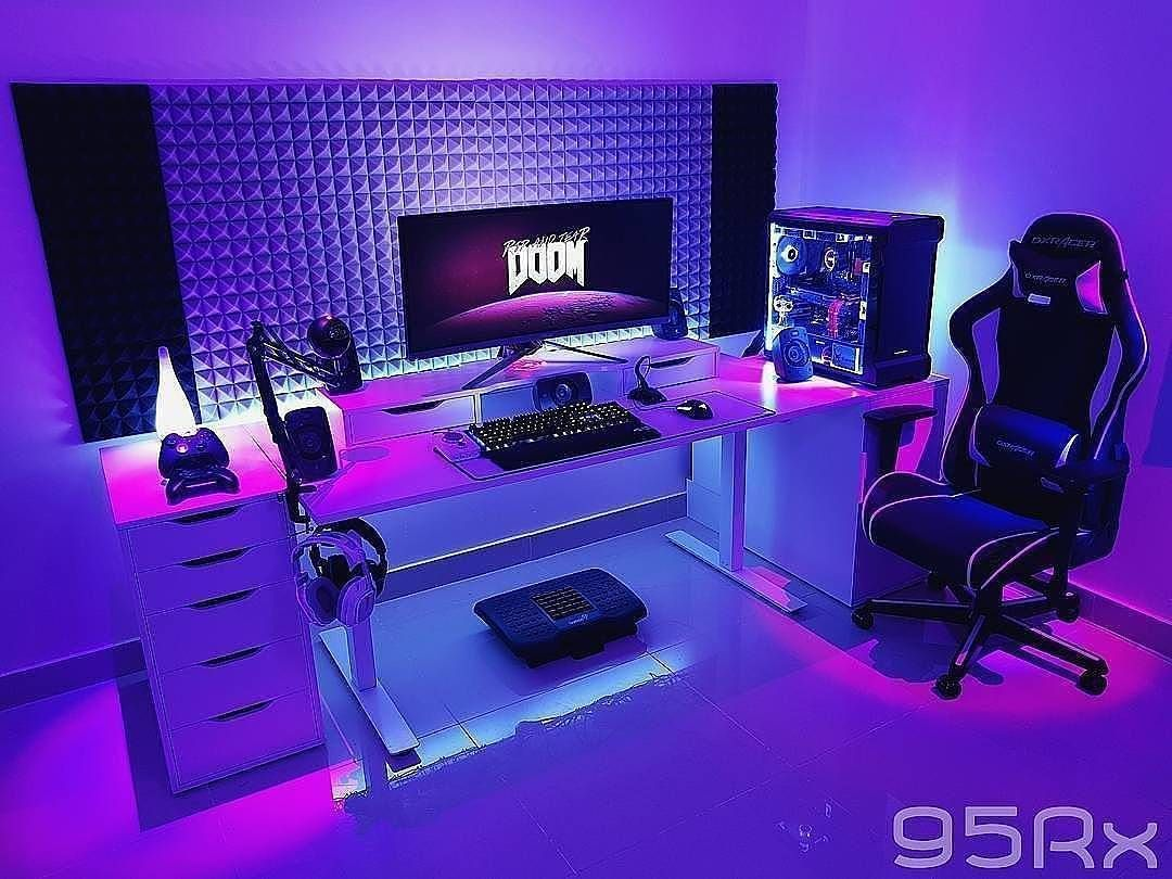 Setupgamingfr Gaming Setup Gaming Room Gamer Room Gamer Girl Gamer Bedroom Gaming Room Ideas Gaming Room Setup Room Setup Video Game Rooms