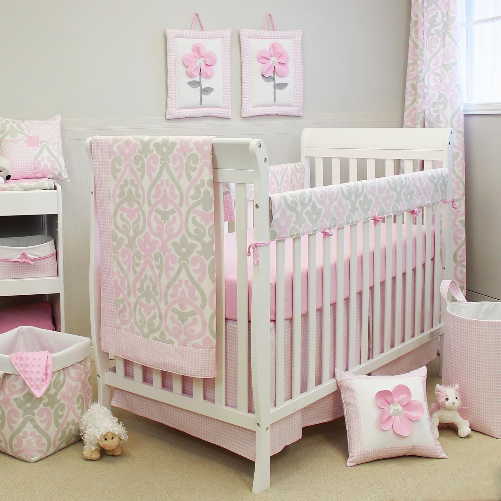 Pink And Grey Nursery Bedding Uk