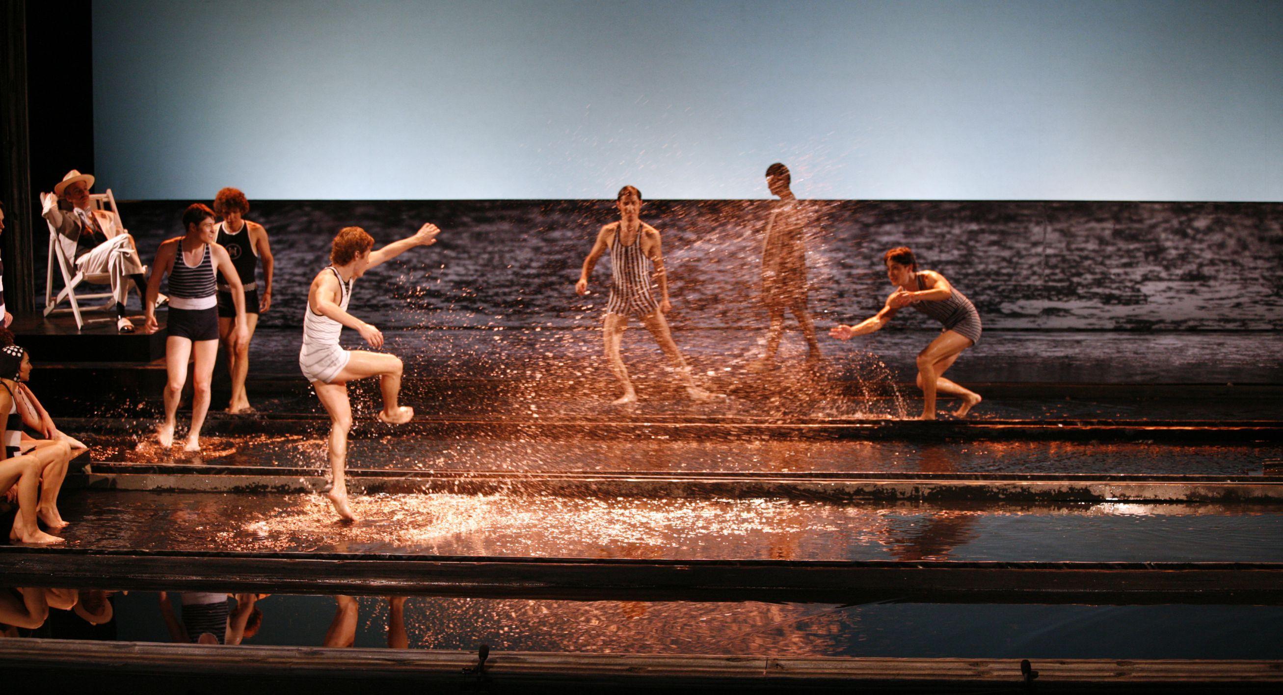 Opera Muerte en Venecia.Escenografía Jorge Ballina