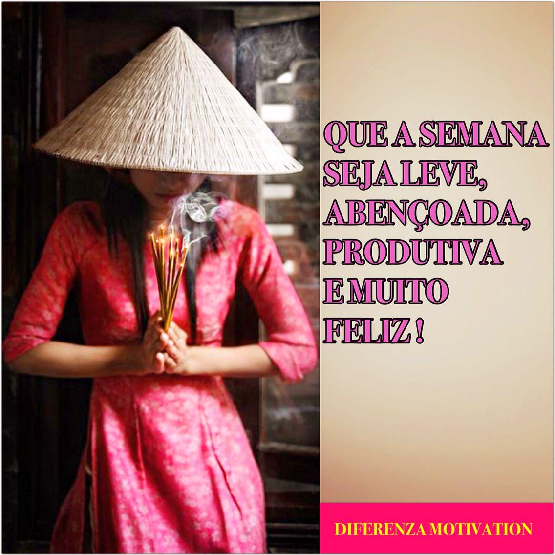 DIFERENZA MOTIVATION BOM DIA !!!!! SEMANA CHEIA DE BÊNÇÃOS PRA TODOS NÓS !!!! #diferenzamotivation #bomdia #amor #motivação #foco  #inspira #inspiração #beleza #confiança #trabalho #gratidão #sorrisos #deusnocomando #sucesso #prosperidade #viagem  #zen #asia #travelling #trip #colors #flowers #sucesso #smile #segundafeira #monday #luxurydetails #diversão #fé