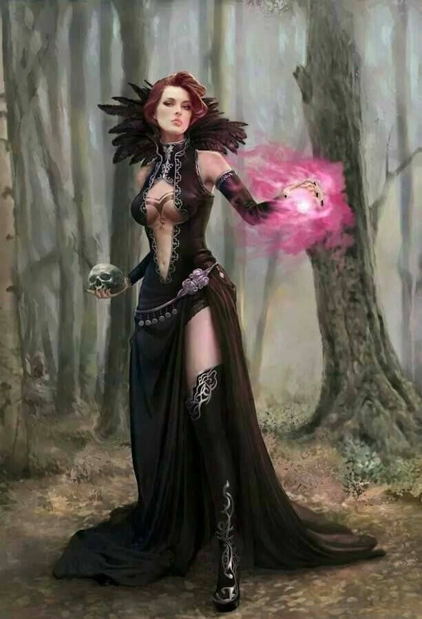 fantasy magierin