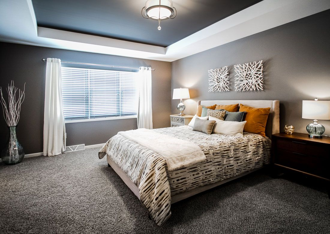 The Atwood Furnished Model   Veridian Homes & The Atwood Furnished Model   Veridian Homes   bedroom   Pinterest ...