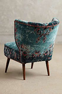 Anthropologie - Dhurrie Occasional Chair