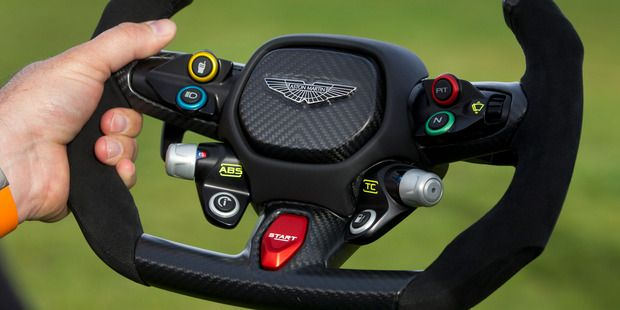 The Steering Wheel From The New Aston Martin Vulcan Top Speed 320