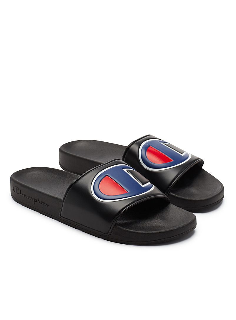 8b15825d544 Oversized logo slides Men in 2019
