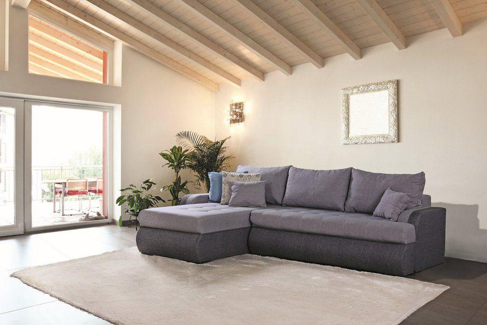 Ecksofa Grand Bahama (mit Schlaffunktion) - Kunstleder - roller de wohnzimmer polstermoebel