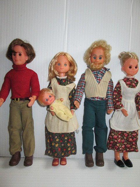 Toys For Grandparents House : Vintage s mattel sunshine family dolls full and