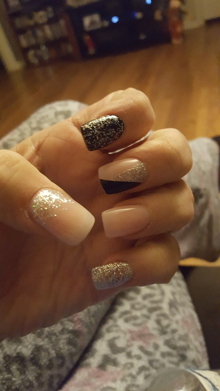 New Years nails 2017 | My nails ☆ | Pinterest