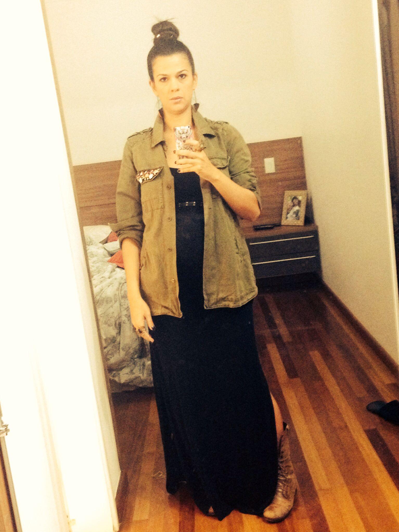 #pregnancystyle #militarismo #fashion