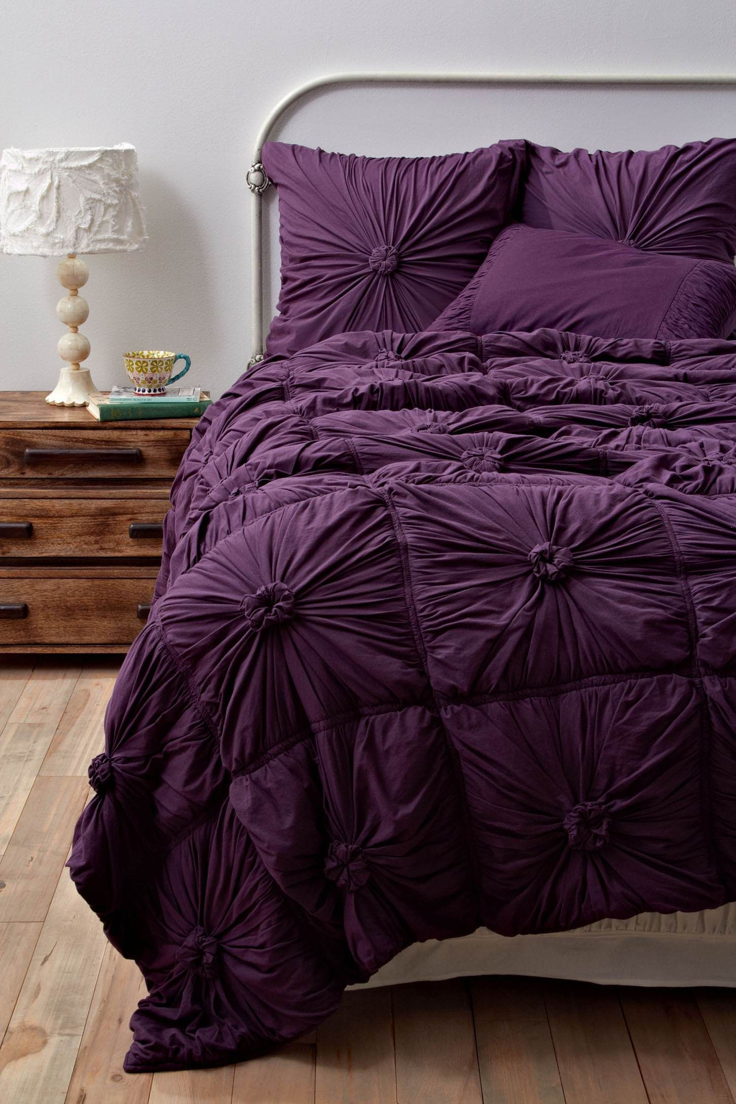 Could make something very similar to this! | DIY | Pinterest ... : purple quilted bedspreads - Adamdwight.com