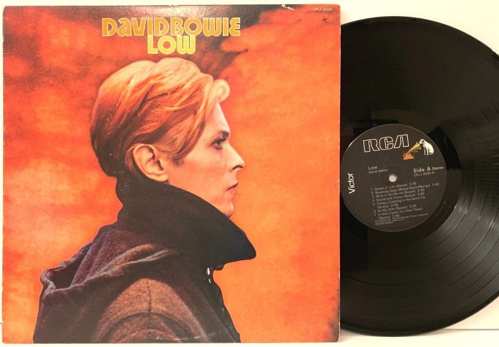 David Bowie Low 1977 Us Pressing Rca Black Cpl1 2030 Lp Vinyl Record Album Stores Ebay Com Capcollectibles Vinyl Records Lp Vinyl Vinyl Record Album