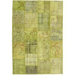 Photo of Patchwork Teppich 158×232 Moderner Teppich