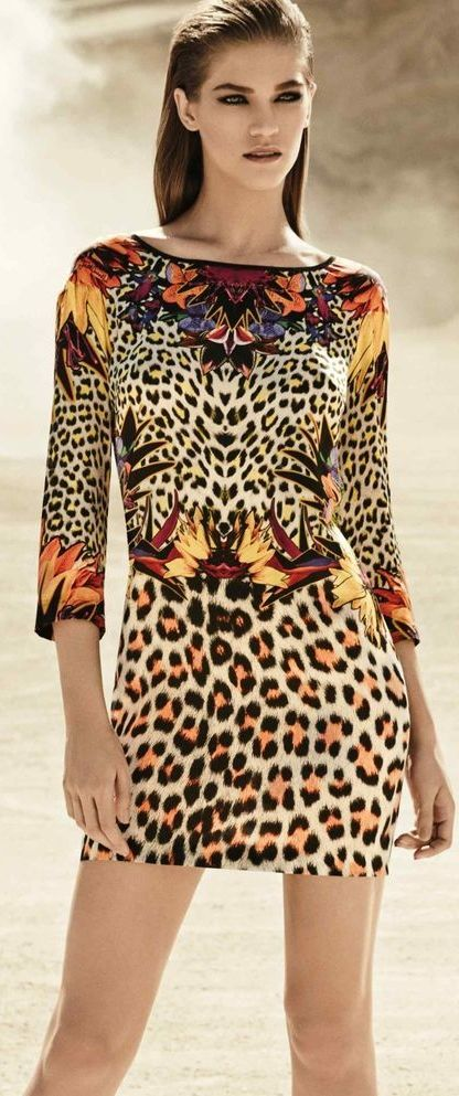f8a3d9917fc Just Cavalli ~ Roberto Cavalli | Leopard Print in 2019 | Animal ...