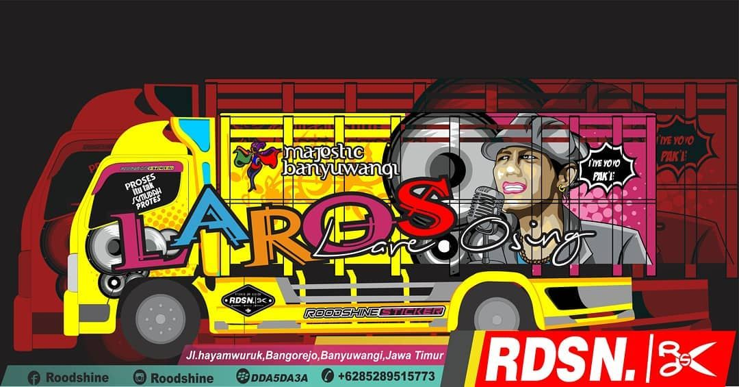 Truckmania Truck Cantermaniaindonesiacommunity Canter Indotruckerid Laros Banyuwangi Roodshine Konsep Mobil Mobil Stiker Mobil