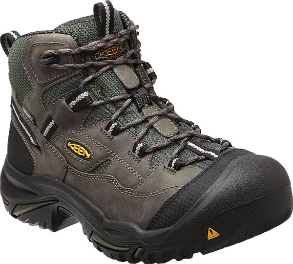 35689081176 The Braddock Mid WP is an American Built work boot from KEEN Utility ...