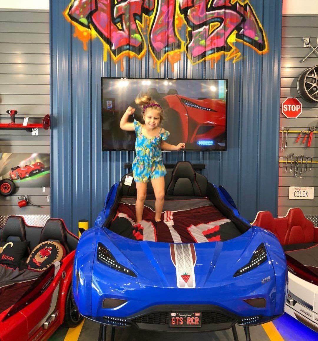 Cilek Kids car bed, Kid beds, Modern baby gear