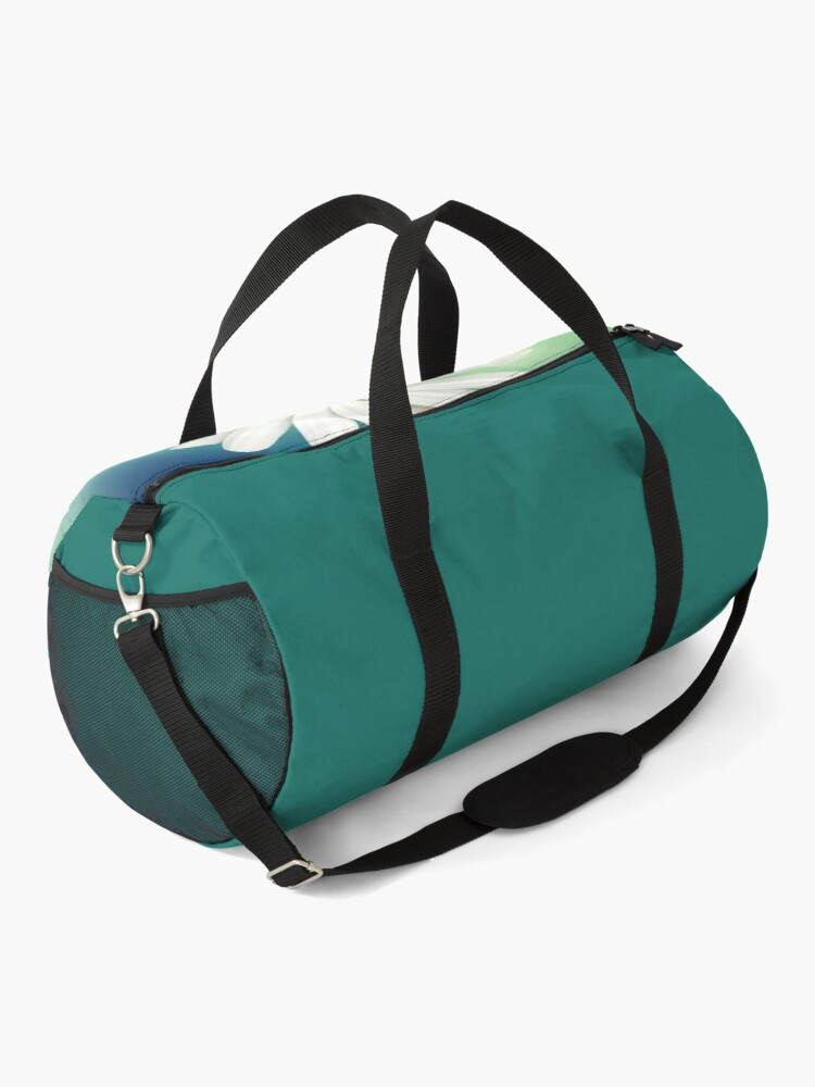 White Daisy Flower Duffle Bag By Rainbowcanvas Redbubble Bags Duffle Duffle Bag