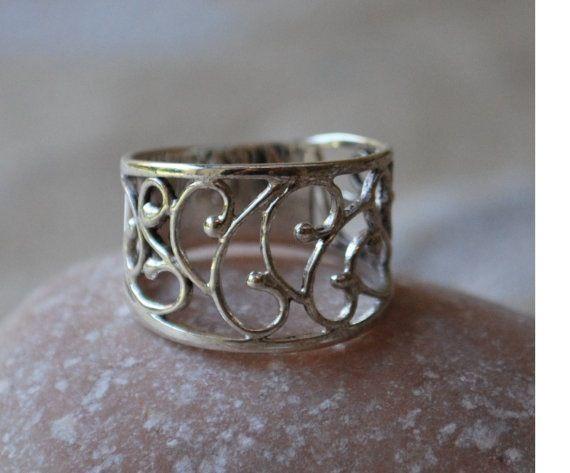 Silver ring 925 http://www.etsy.com/shop/sayagjewellery
