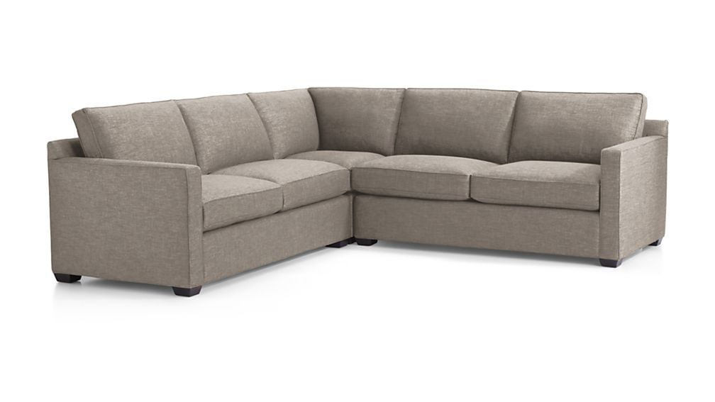 Davis 3 Piece Sectional Sofa 3 Piece Sectional Sofa Sectional