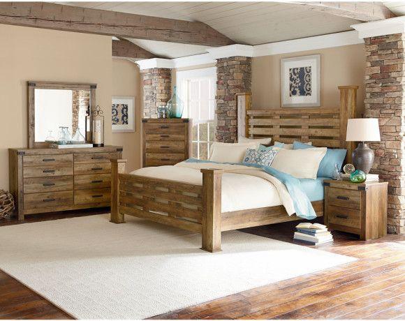 Best Montana Bedroom Collection Bedrooms American Freight 400 x 300