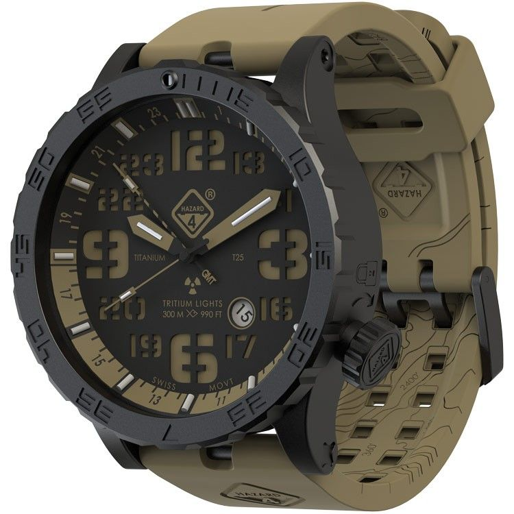 Hwd Cavern Gmt Tritium Watches Watches For Men Tactical Watch
