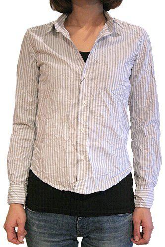 Amazon.co.jp: 【正規取扱店】Frank&Eileen フランクアンドアイリーン BARRY レディースシャツ GYST GREY: 服&ファッション小物