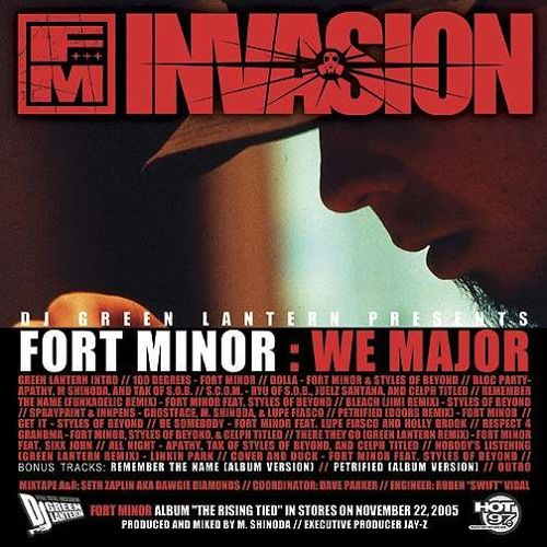 Fort Minor - S C O M  (Guns N Roses Remix) ft Styles of Beyond