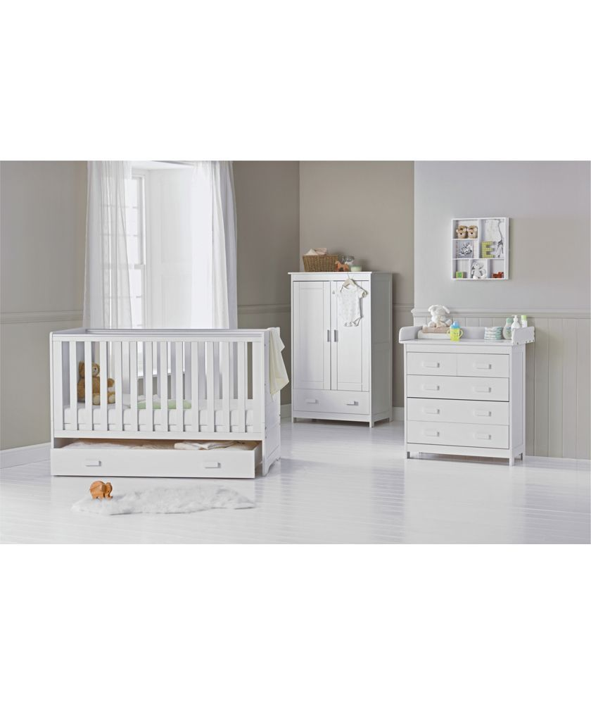 Babystart Delfina 3 Piece Nursery Set White At Argos Co Uk Your Online For Furniture Sets