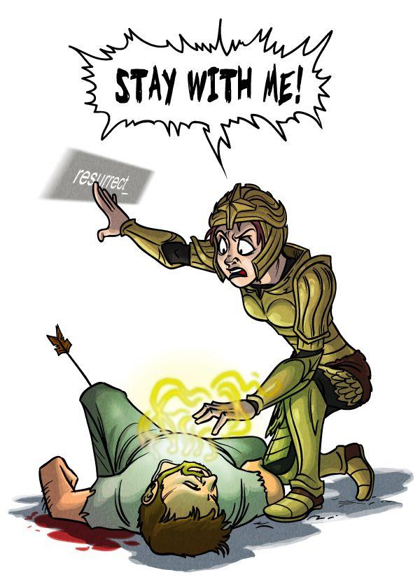 Skyrim - No NPC Left Behind by TomPreston on deviantART -especially