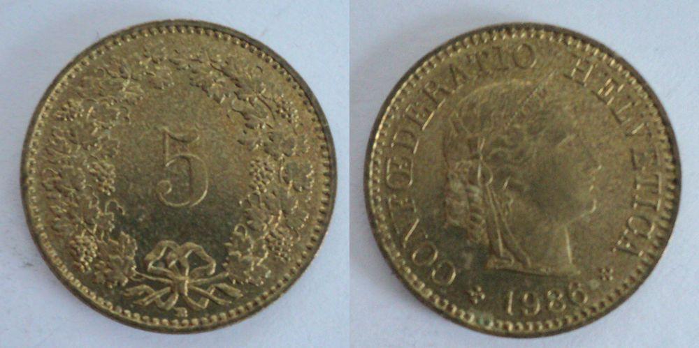 Details about 5 Rappen 1931  Switzerland coin, CONFŒDERATIO