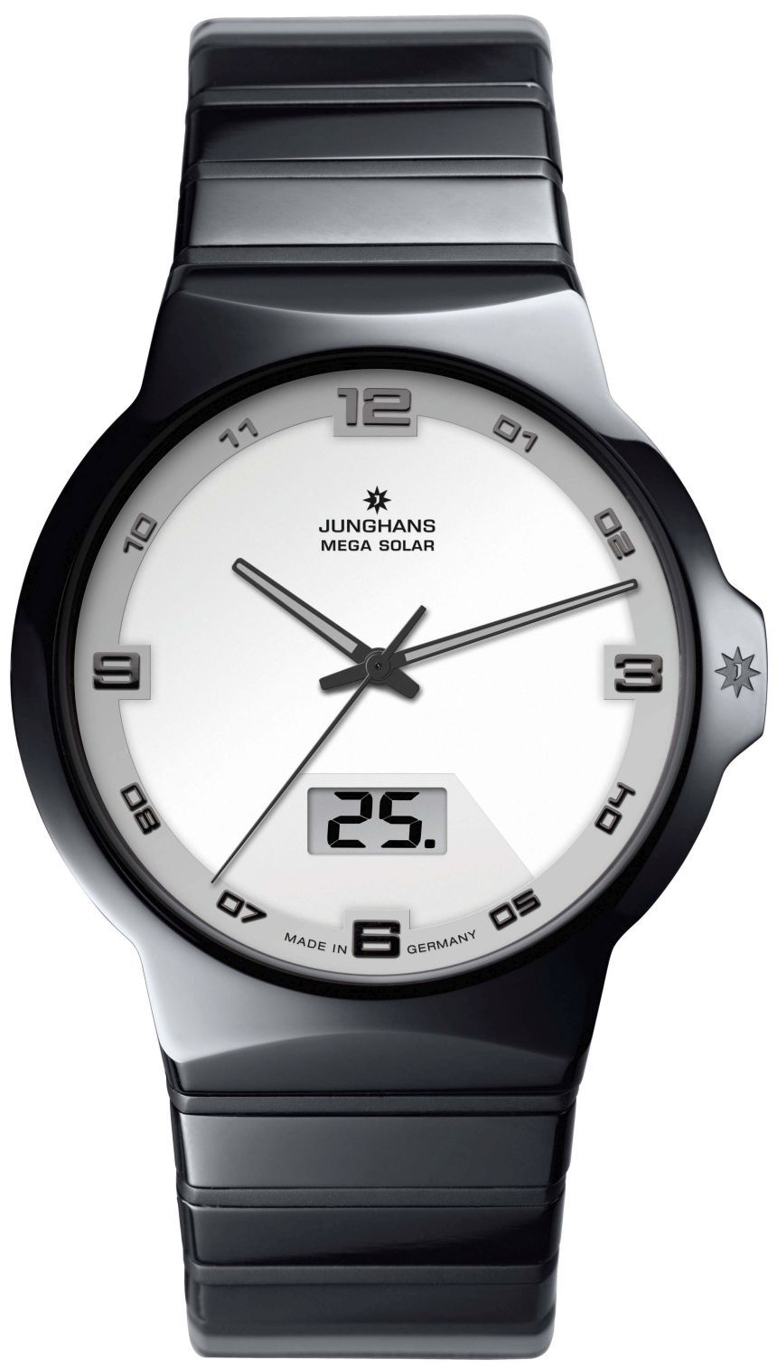 Junghans Force Mega Solar Watch With Wireless Charge And Sync Ablogtowatch Junghans Watch Solar Watch Junghans