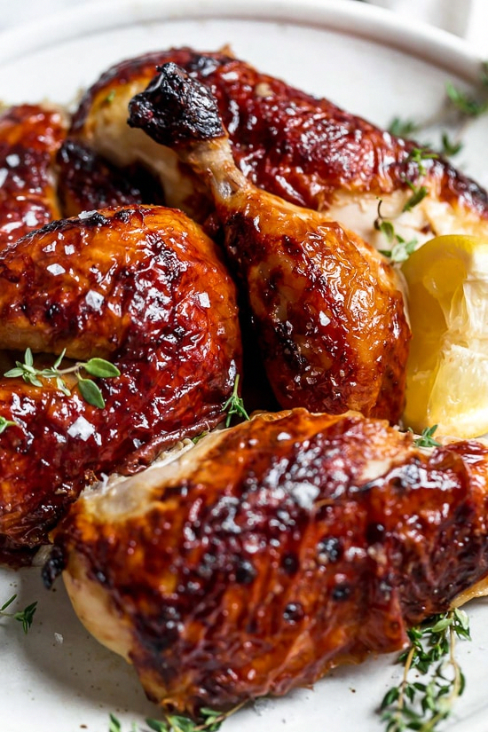 ButtermilkMarinated Air Fryer Whole Roasted Chicken