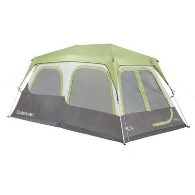 Coleman Instant Cabin 8 Person Tent With Fly Signature Cabin Tent Tent Coleman Tent