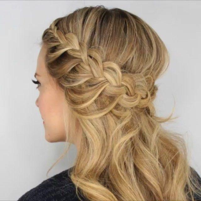 Instagram   Half up wedding hair, Curly prom hair, Prom hair