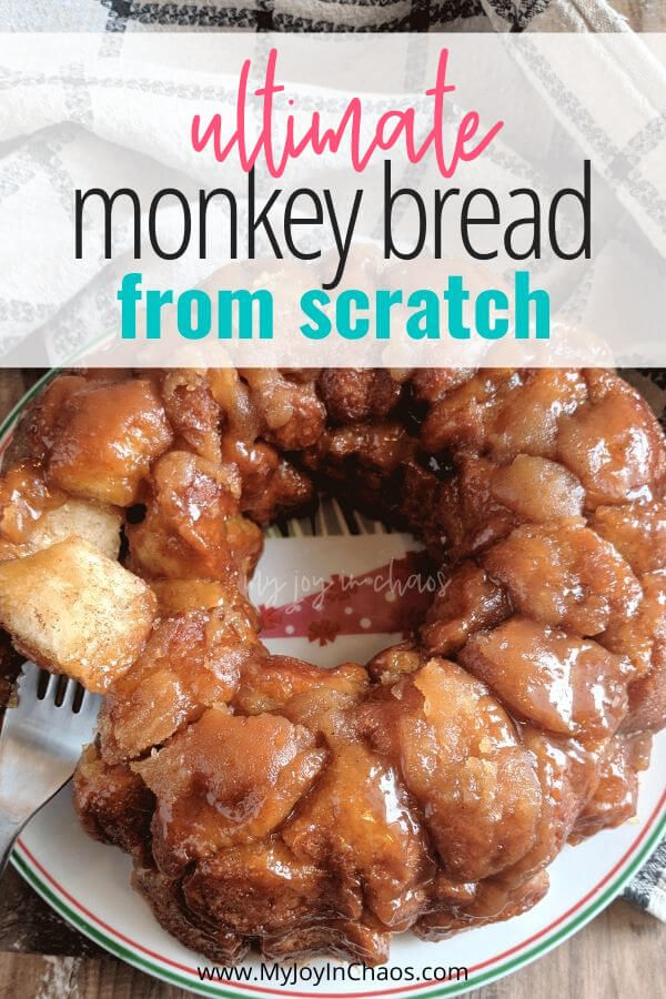 Ultimate Homemade Monkey Bread from Scratch | My Joy in Chaos
