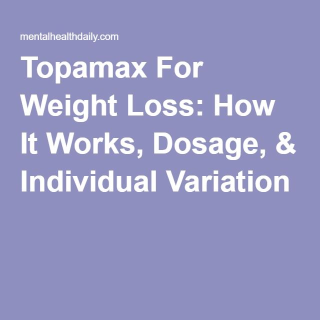 Topamax For Weight Loss: How It Works, Dosage ...