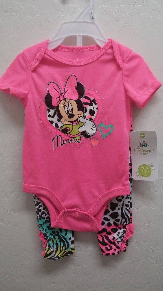 DISNEY Really Cute MINNIE MOUSE 2 Piece Set NWT