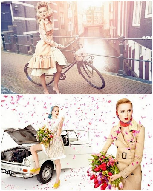 Ymre Stiekema, Romee Strijd, Josefien Rodermaans, Svea Kloosterhof, Anne Verhallen, Rianne van Rompaey e Imaan Hammam foram clicadas em Amsterdam por Marc de Groot para Vogue Holanda - Abril 2012