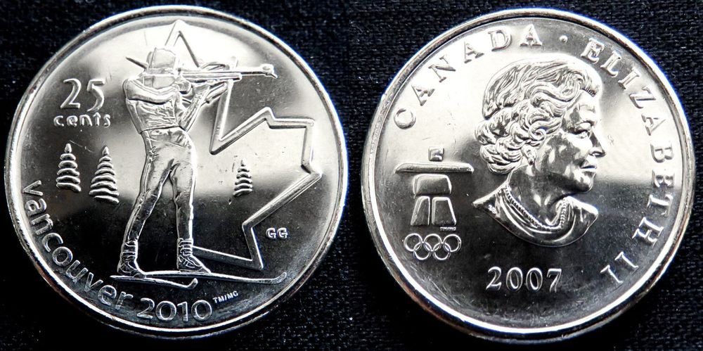 Canada 2010  5 cents Nice UNC Five Cents Canadian Nickel